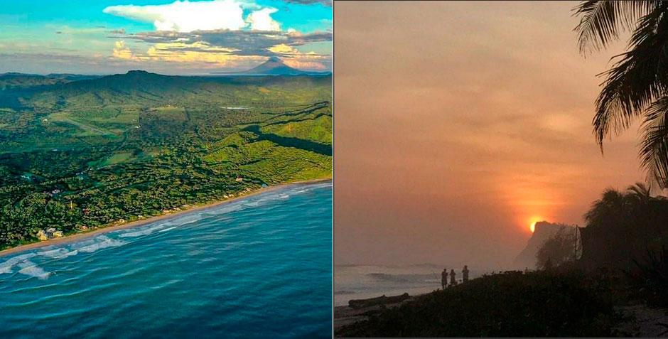 Postales de Playa Colorado, Nicaragua.