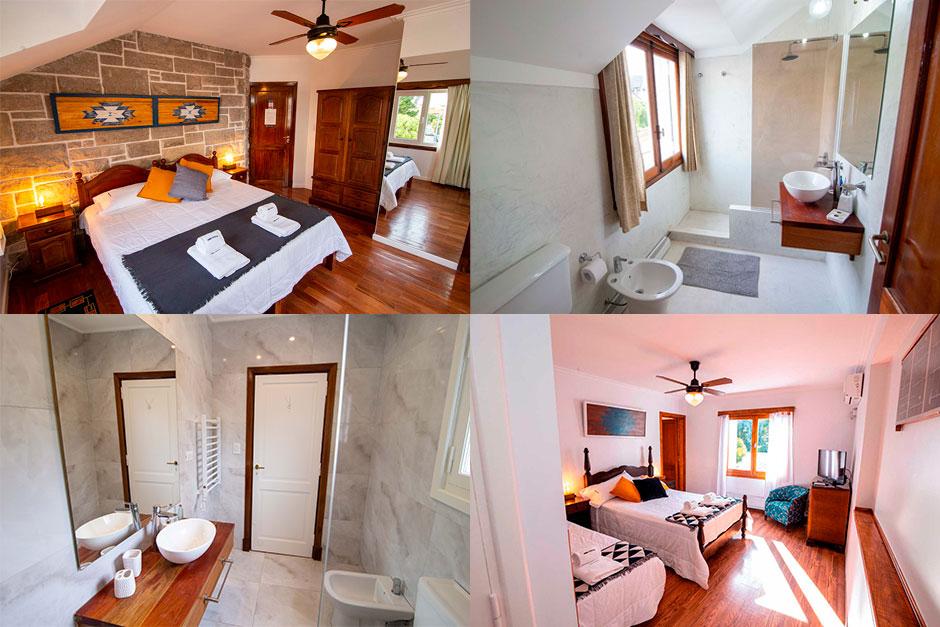 Las habitaciones cuentan con baño privado.