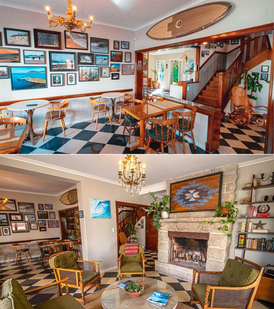Detalles en la decoración de la casa le dan clima cálido y confortable.
