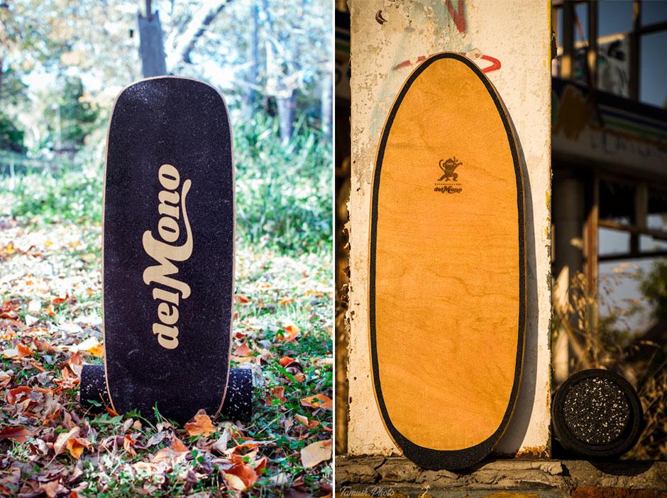 Dos versiones diferentes de shapes Del Mono.