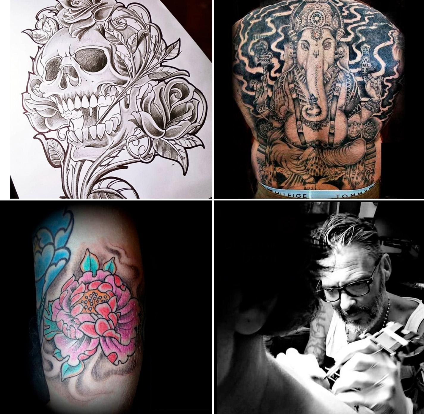 Javier tiene más de 20 años de trayectoria como tatuador.